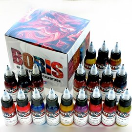 Intenze Boris from Hungary Color Pigment Ink Set